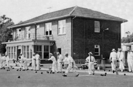 Camden Bowling Club 1954